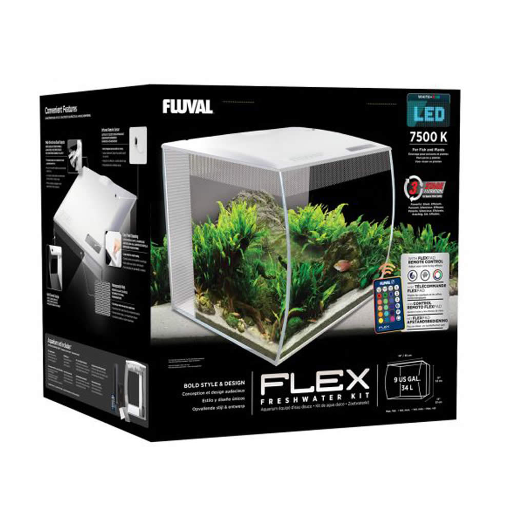 Kit de acuario Flex, 34 L – Fluval