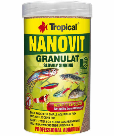Nanovit Granulat – Tropical