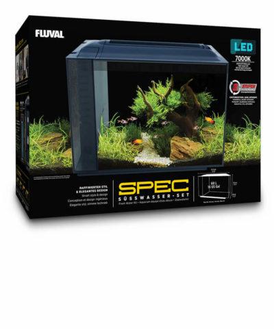 FLUVAL Spec XV 60 l con iluminación LED y sistema de filtrado