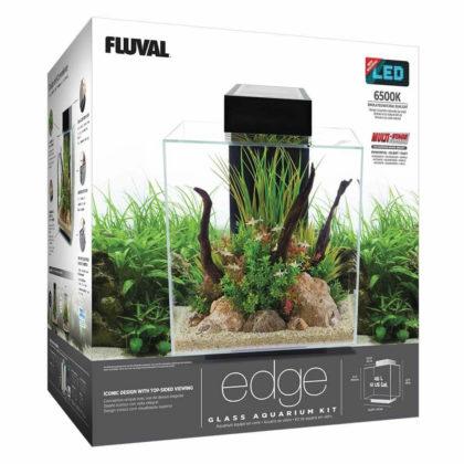 Fluval Kit de acuario Edge 46 L o 23 L